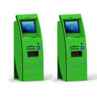 Buy cheap Slim Curve A4 Laser Printer Self Service Kiosk With Passport Scanner / Webcamera from wholesalers