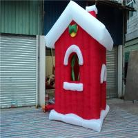 Buy cheap Big Inflatable Christmas Decoration For Exhibitions Tree  /  House from wholesalers