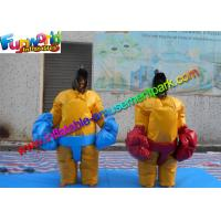Buy cheap Adult Sumo Wresting Inflatable Sports Games 1.8m H Inflatable Sumo Suits from wholesalers