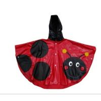 "Buy cheap 20"" Long Waterproof PVC Rain Coats With Hood For Women from wholesalers"