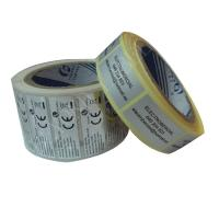 Buy cheap Printing Vinyl Sticker Foil Labels On A Roll With Personalized Labels Design from wholesalers