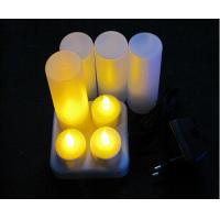 Buy cheap Rechargeable LED Candle Light in Set of 4 from wholesalers