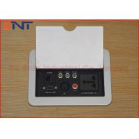 Buy cheap Flip Up Desktop Manual Conference Table Power Hub Universal Standard 220V from wholesalers