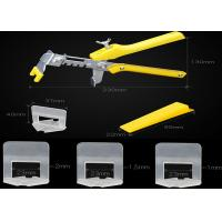 Buy cheap Tile Spacer, good Tile Flat Leveling System Wall Floor Spacers Strap Device molding from china. Building material from wholesalers