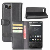 Buy cheap Genuine Leather BlackBerry Keyone DTEK 70 Mobile phone case The second Leather wallet card holster for Business man from wholesalers