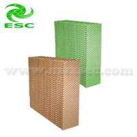 Buy cheap Green and Brown High Absorbability Evaporative Cooling Media (ESC PAD-6090) from wholesalers