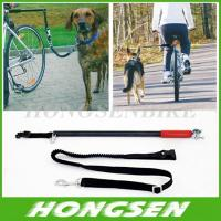 Buy cheap HS-D01 Running retractable China dog training bike leash walking bike dog leashes from wholesalers