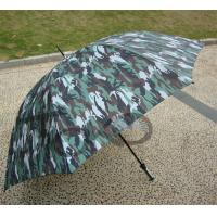 Buy cheap Large Size Compact Vented Golf Umbrella Handle Open Print Fabric With Leaves from wholesalers