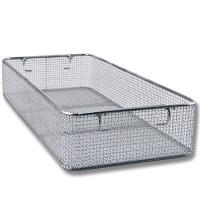 Buy cheap Woven Mesh Stainless Steel Wire Basket Tray For Hospital Surgical Instrument from wholesalers