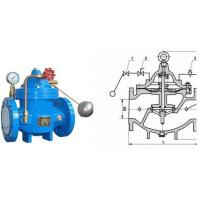 Buy cheap Water Tank Float Control Valve Ductile Iron with Stainless Steel Floating Ball from wholesalers