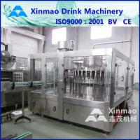 Buy cheap Soda Filling Machine / Juice Filling Line / Carbonated Water Filling Plant from wholesalers