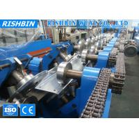 Buy cheap 20 m / min Cee Zee Purlin Roll Forming Machine Hydraulic Punching 20 KW product