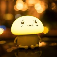 Buy cheap Cute Q LED night light, Creative new silicone light touch LED pat light from wholesalers