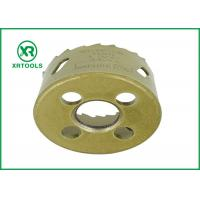 Buy cheap Gold Round Bi Metal Hole Saw , HSS M42 Carbide Tipped Hole Saw With Built from wholesalers