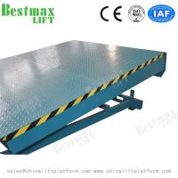Buy cheap 10000kg Load Stationary Dock Leveler For Loading Cargo with CE certificate from wholesalers