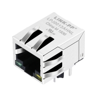 Buy cheap Silver Metal IEEE RJ45 Modular Jack ,Interested Rj45 Connector 13F-63CGYD4S2NL from wholesalers