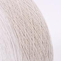 Buy cheap Ne10s/1 50%cotton 50%polyester of grey open end recycled cotton carpet yarn from wholesalers