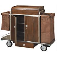 Buy cheap Brown Room Service Trolley For Hotel from wholesalers