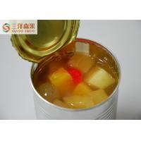 Buy cheap No Artificial Colors Mixed Canned Fruit 425g / 820g / 3000g In Normal Temperature from wholesalers