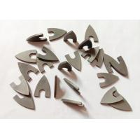 Buy cheap High Hardness YG8 Triangle Tungsten Carbide Tips For Ceramic Drill Bit from wholesalers
