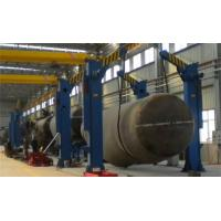 Buy cheap UL Pipe Stand Roller Oval Tank Turning Rotator Chain Tilting Machine from wholesalers
