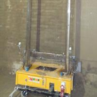 Buy cheap Yellow / Silver Automatic Rendering Machine Fast Speed Wall Cement Mortar Render from wholesalers