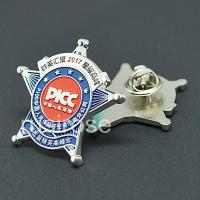 Buy cheap Custom Imitation badge,Personalized metal pin,production of Fluorescent badge,metal brooch collar pin, custom made Epoxy from wholesalers
