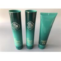 Buy cheap 100g Green Empty Lotion Tubes 1C Silk Screen Printing Hot Stamping 35mm Diameter from wholesalers