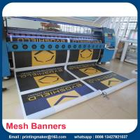 Buy cheap Mesh Printed PVC Banners With Metal Eyelets from wholesalers