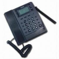 Buy cheap CDMA 450MHz Fixed Wireless Phone, FWP/FWT, Measures 215 x 170 x 68mm from wholesalers