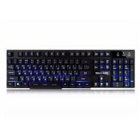 Buy cheap Anti Ghosting Gaming Keyboard Backlit , Floating Keys Keyboards For Pc Gaming from wholesalers