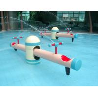 Buy cheap Amusement Park Fiber glass Seesaw Play for Kids Colorful Aqua Park Equipment from wholesalers