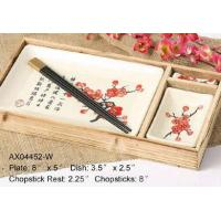 Buy cheap 4pcs Sushi Set - White Plum Blossom from wholesalers