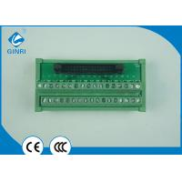 Buy cheap DC Motors Terminal Block Interface Modules PLC Output Interface Slotted  Screws 34P from wholesalers