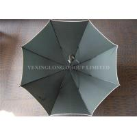Customised Logo Dark Green Windproof Golf Umbrella As Promotional Items