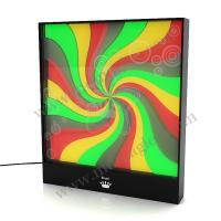 Buy cheap Color Acrylic Crystal LED Light Box Display with Custom Size For Exhibition from wholesalers