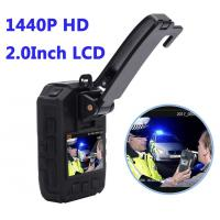 Buy cheap Full HD 1440P Waterproof  Police 4G Wearable Video Camera With GPS WIFI product