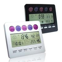 Buy cheap With Time, Temperature, Date Display and Alarm Clock Digital Thermometers HD-5306 product