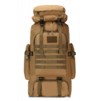 Buy cheap 70cm*37cm*17cm Oxford Cloth 80L Military Tactical Travel Bags With USB product