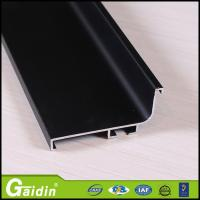 Buy cheap Alloy 6063 Champagne Brushed Aluminium Extrusion Profile For Cabinet from wholesalers
