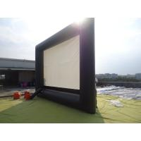 China Commercial Outdoor Inflatable Movie Screen / Movie Screen For Festival on sale
