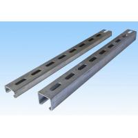 Buy cheap Plain / Slotted C Profile Steel Cold Formed Steel Purlin Galvalume Mild Steel from wholesalers