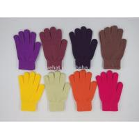 Buy cheap 2017 On Stock Keep Warm High Quality Hands Fashion Accessories Ladies Men Winter Knitting Gloves 95%Acrylic5%Spandex 30g product