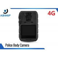 3G / 4G LTE 32GB Law Enforcement Police Body Worn Video Camera High Resolution