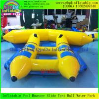 Buy cheap Best Price High Quality Water Game For Adult And Kid Flying Fish Inflatable Banana Boats from wholesalers