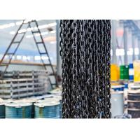 Buy cheap EN818-2 G80 Lifting Anchor Chain , Alloy Steel Black Oxidation Lifting Chain from wholesalers
