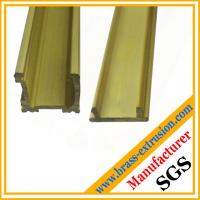 Buy cheap brass decoration material window and door extrusion profile from wholesalers