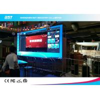 Buy cheap P4mm Indoor Indoor Advertising LED Display Full Color High Brightness Ultra Thin Design from wholesalers