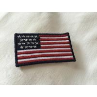 Buy cheap Custom Embroidered Military Name Patches , Large 3D Embroidery Patches from wholesalers