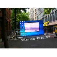 Buy cheap Outdoor P5.14mm LED Stage Backdrop Screen , Stage Background LED Video Screen from wholesalers